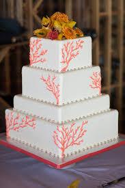 coral wedding cakes wedding cake images coral pastel de fondant con tonos en color