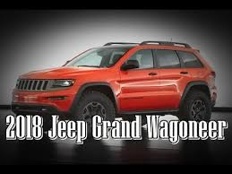 new jeep wagoneer concept 2018 jeep grand wagoneer concept interior and exterior youtube