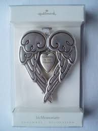 hallmark in memoriam always in our hearts wings design