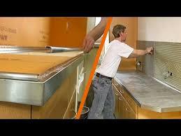 plan de travail cuisine carrel plan de travail en carrelage maison design schlter kerdi board plan