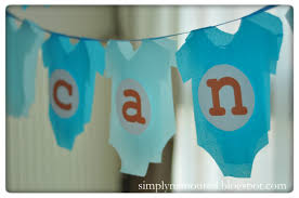 baby shower banner diy simply n amoured diy baby shower