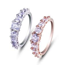 eternity ring finger fashion jewelry wholesale gemstone fashion ring finger eternity