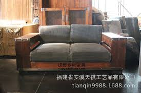 sofa design wooden sofa loft brown houstonn 1921 american country