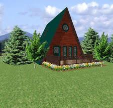 cabin plans ebay