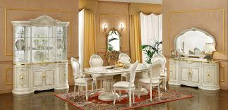 Italian Dining Room Furniture Leonardo Italian Dining Room Furniture Set Em Italia