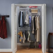 closetmaid shelftrack adjustable closet organizer kit reviews