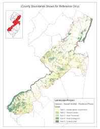 Nj Counties Map Bureau Of Gis