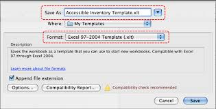 Spreadsheet For Mac Authoring Techniques For Accessible Office Documents Excel 2008