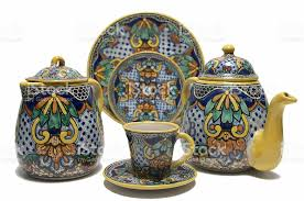 Handmade Mexican Pottery - handmade mexican pottery 1 stock photo istock