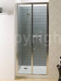 Infold Shower Door by Edge 900mm Bifold Shower Door