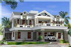 Kerala Sloped Roof Home Design by Sloping Roof Mix Luxury Home Design Kerala Home Design Luxury