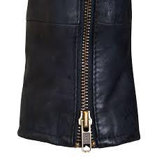 biker coat zoe ladies navy blue leather biker jacket hidepark