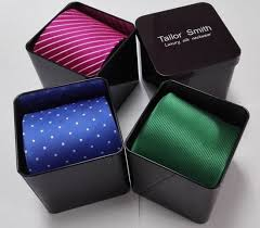 gift box for tie china metal tin gift box for necktie china delicate tie box