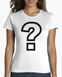 Preferidos Camiseta signo de interrogación - nº 1684437 - Camisetas latostadora #QH42