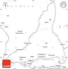 map of karachi blank simple map of karachi