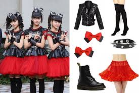 Metal Halloween Costumes Babymetal Cosplay Dress Babymetal Halloween 4