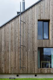 exterior cladding spruce that has been treated with iron vitriol