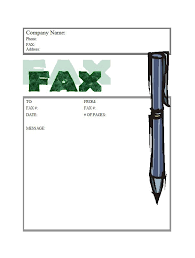 40 printable fax cover sheet templates u2013 free template downloads