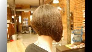 long bob haircuts back view youtube