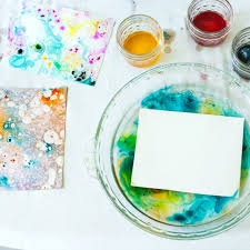 diy marbled paper the best easiest u0026 cheapest method step by step