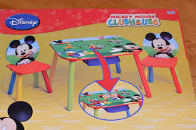 mickey mouse kids table delta children mickey mouse table and chair set mhcgiftguide the