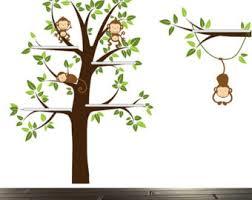 shelf tree decal etsy