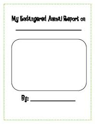 animal report template endangered animal report template by gerardi tpt
