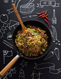 cuisine au gingembre nouilles chinoises sautées au porc et gingembre pour 6 personnes