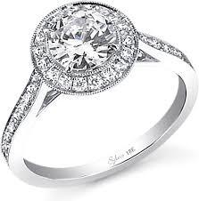 milgrain engagement ring sylvie milgrain engagement ring sy310