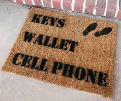 Doormat Leave Come Back With A Warrant Doormat