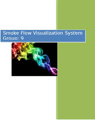 smoke flow visualization system lab experiment report wind
