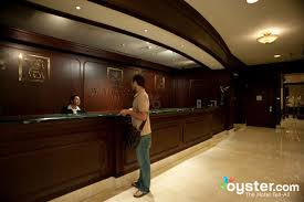 Reception Desk Miami by Front Desk At The Jw Marriott Hotel Miami Oyster Com