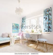 Light Furniture For Living Room Dining Space Table Chairs Living Room Stock Photo 674348941