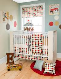 Unisex Baby Crib Bedding by Red And Blue Nursery Glenna Jean Cooper Crib Bedding Red Blue