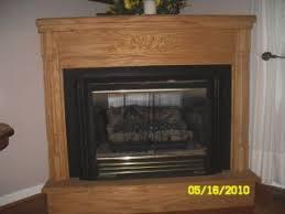 Oak Corner Fireplace by Corner Fireplaces March 2014
