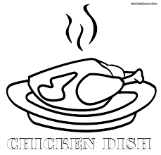 plate coloring pages coloring pages to download and print