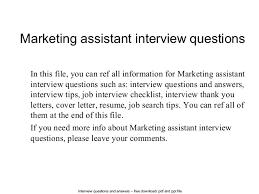 marketing assistant interview questions 1 638 jpg cb u003d1402661796