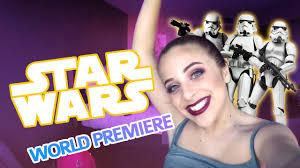 Challenge Baby Ariel Wars World Premiere Vlog Baby Ariel