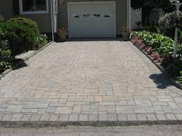 Concrete Patio With Pavers Rockland Pavers Elegant Design Driveways Walkways Patios