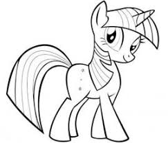 8 pony images coloring book