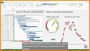 Free Project Dashboard Template Excel Management Tracking Template Free Excel Spreadsheet
