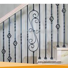 Decorative Wrought Iron Railings Decorative Metal Spiral Stair Ornament Railing Outdoor Wrought