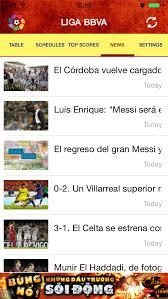 la liga live scores and table meetsource live score spanish la liga ios
