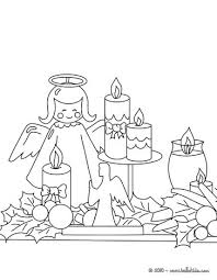 christmas candles coloring pages 8 xmas online coloring books