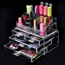 Box Makeup acrylic makeup cosmetic organizer storage box makeup tools
