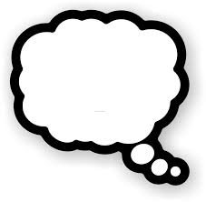 person thinking with thought bubble free clipart 5 clipartix