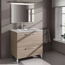 muebles de lavabo mueble lavabo color roble nature