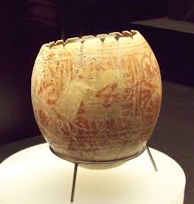 ostrich egg painted file punic ostrich egg from villaricos m a n 1935 4 vill t 609 7