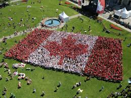 Giant Canadian Flag 32 Free Things To Do On Canada Day