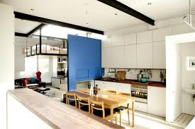 Studio Kitchen Design Ideas Welcoming London Home Boasts Ingeniously Suspended Living Room Bed